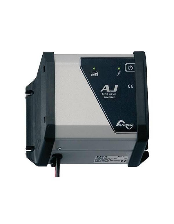 Inversor onda senoidal 200W 12V Studer AJ 275-12 S con regulador 10A