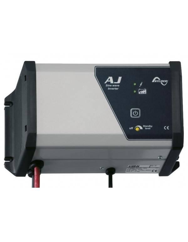 Pure Sine Wave Inverter 500W 24V Studer AJ 600-24 S with Solar regulator 15A