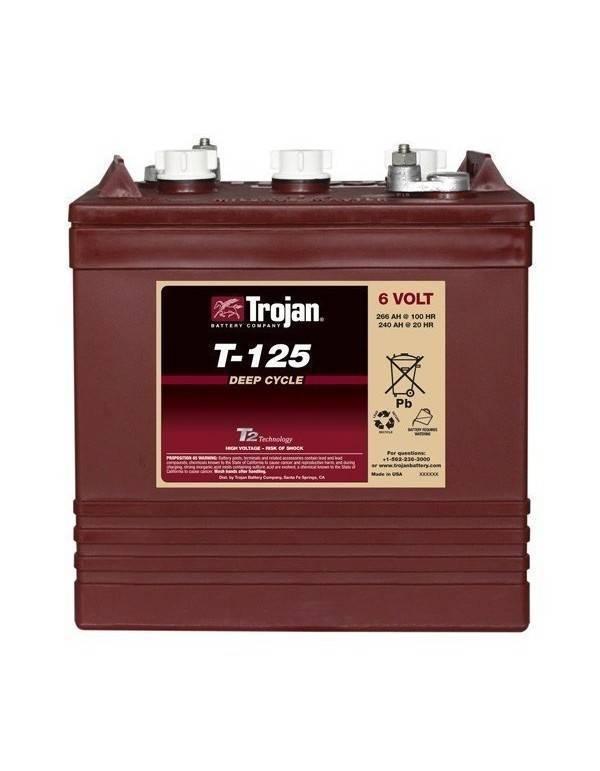 Trojan battery T125 6V 266Ah
