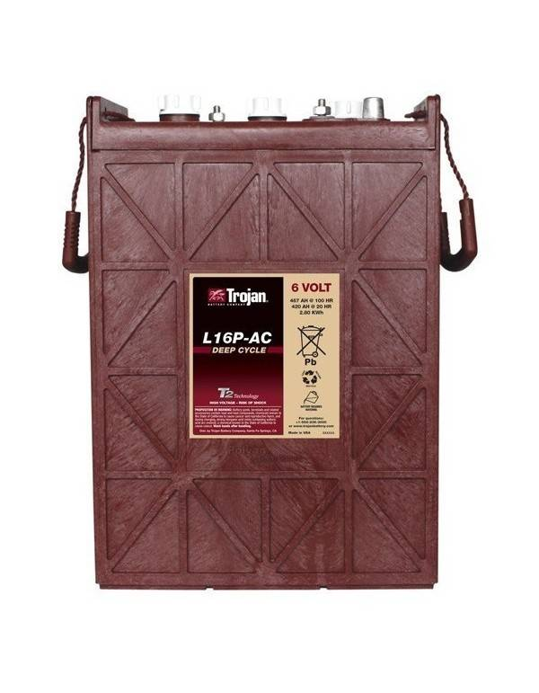 Battery L16P-AC Trojan deep cycle 6V 467Ah