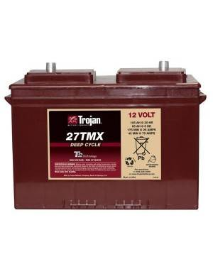 Trojan battery 27TMX 12V 117Ah