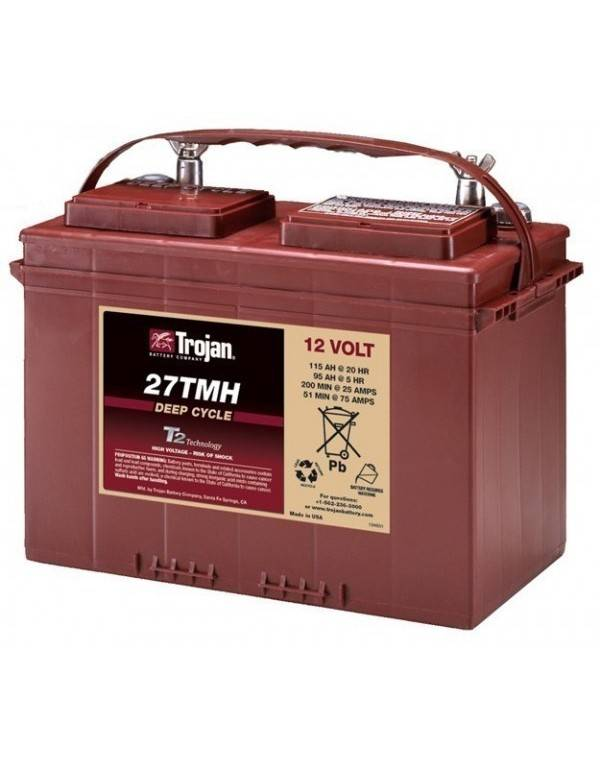 Trojan battery 27TMH 12V 128Ah