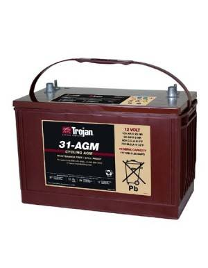 Trojan battery 31-AGM  12V 111Ah