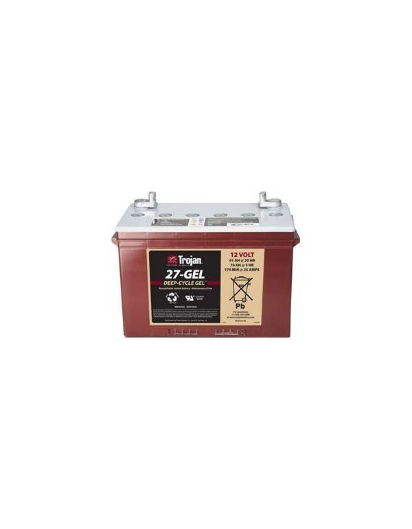 Trojan battery 27GEL 100Ah 12V