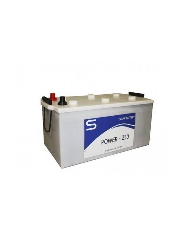 Batería Monoblock POWER 250 12V 250Ah