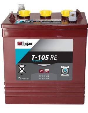 Batería Trojan T105RE de ciclo profundo 6V 250Ah