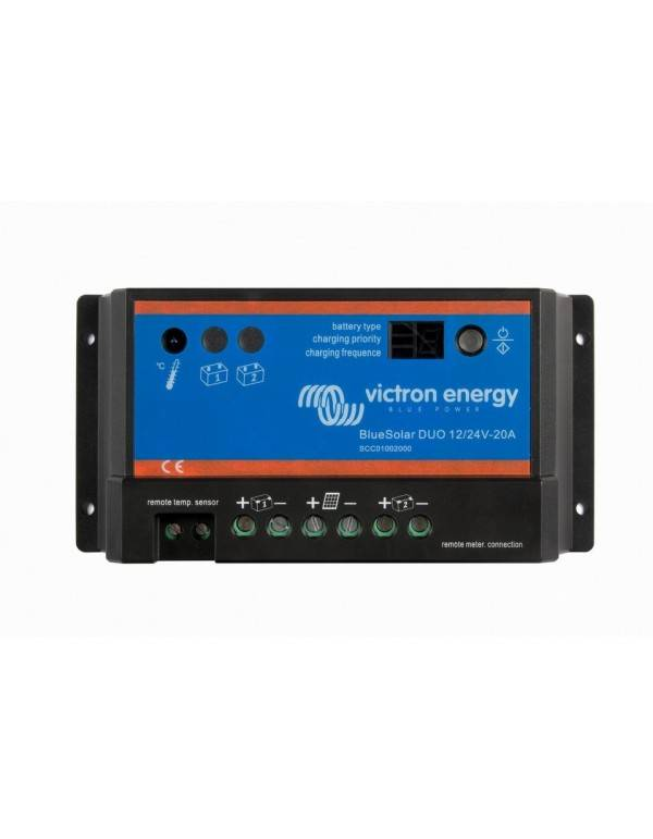 Regulador 20A Victron BlueSolar PWM DUO 12V/24V