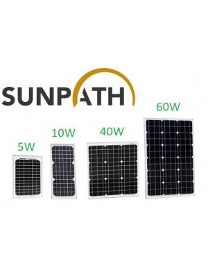 Solar Panel 60Wp Sunpath SPH60P-M