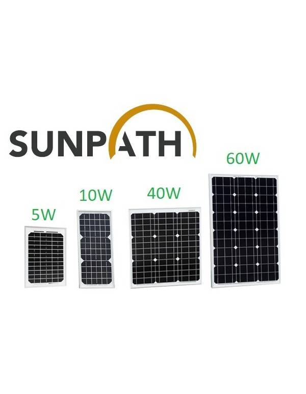 Solar Panel 40Wp Sunpath SPH40P-M
