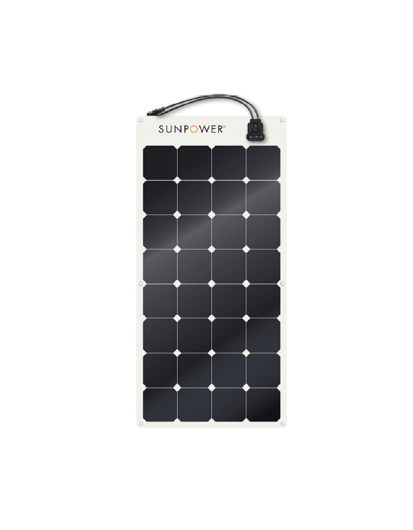 Solar Module SunPower 110Wp SPR FLEX semiflexible