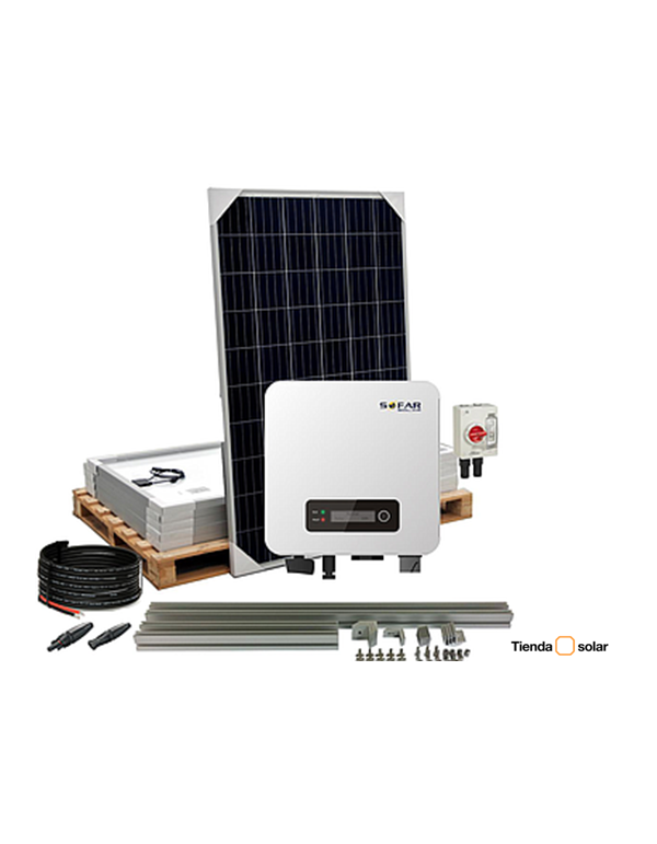 Kit Solar Residencial 1600W SOFAR