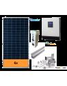 KIT SOLAR AUTOCONSUMO AISLADO 5000 W y baterías, con producción 5000 Whdía