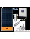 KIT SOLAR AUTOCONSUMO AISLADO 5000 W y baterías, con producción 7000 Whdía