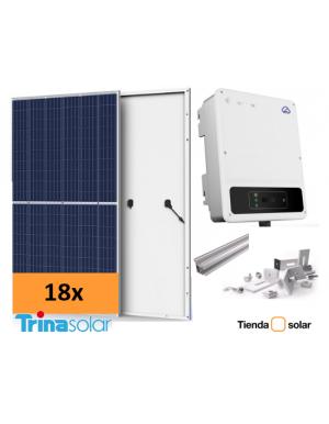 Kit solar autoconsumo 4kW