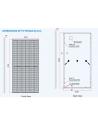 dimensiones panel solar Trina 450W Tallamax