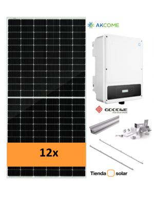 solar kit GoodWe 5000D-NS