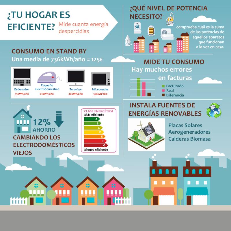 Infografia Mentiras y Verdades Eficiencia Energética