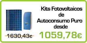 Kits Fotovoltaicos de Autoconsumo Puro