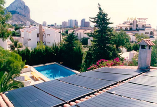 Pools Solar Panels Polypropylene